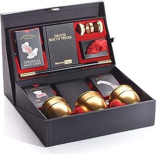 Marvin's Magic - Deluxe Box of Tricks - Multicolor | Marvins Magic box Of Tricks | Magician Supplies Include Mystical Magi...