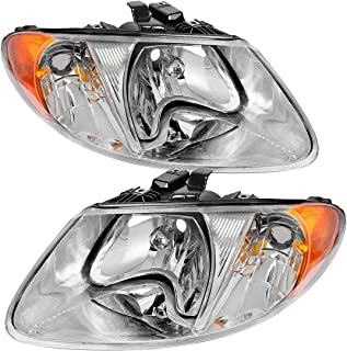 OE Style Headlight Assembly for Dodge Caravan 01-07 / Chrysler Town & Country 2001-2007