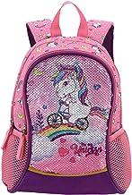 HAPPYSUNNY Toddler Backpack Reversible Sequin 13 Inch Lightweight for Preschool and Kindergarten Children, Kid Backpack, M...
