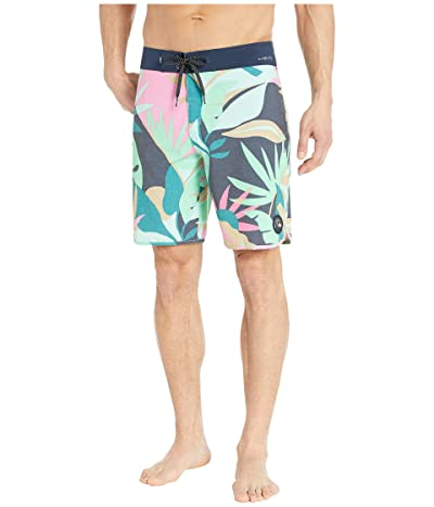 Quiksilver Highline Tropical Flow 19 Boardshorts (Beach Glass) Men