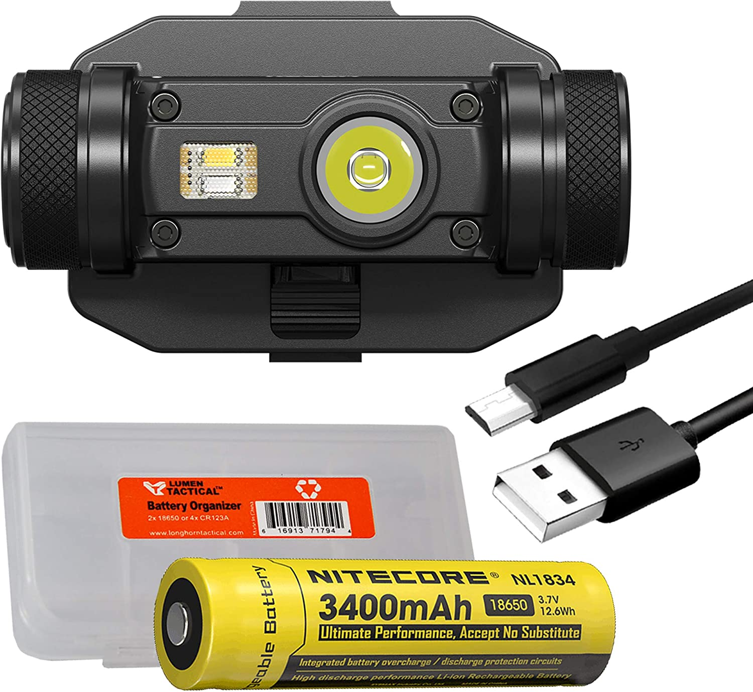 Nitecore HC65M New mail order 1000 Lumen NVG USB Rechargeable Tactica Mountable Free Shipping Cheap Bargain Gift