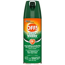 OFF! Deep Woods Insect Repellent V 6 oz