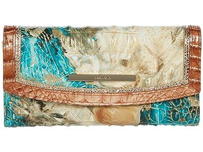 Brahmin Vitoria Modern Checkbook Wallet (Bird of Paradise) Handbags