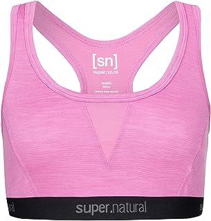 super.natural Women's W SEMPLICE Bra 220 Sports, Crocus Melange, S