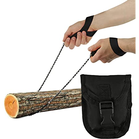 Deluxe Outdoor Survival Hand Chain Saw Portable Wilderness Essential