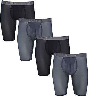 Men's 4-Pack Everlight Boxer Briefs Breathable Nylon/Spandex Blend