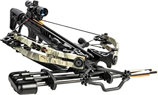Bear X Saga 370 Ready to Hunt Crossbow Package with Scope, Quiver, Bolts, Cocking Rope, and Wax