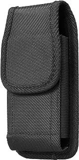 AQ Mobile Funda Cinturón Vertical para Móviles y Smartphones, Talla XL (para 6,5
