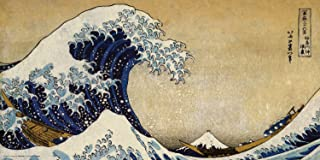 Culturenik Katsushika Hokusai The Great Wave Japanese Fine Art Print (Unframed 12x24 Poster)