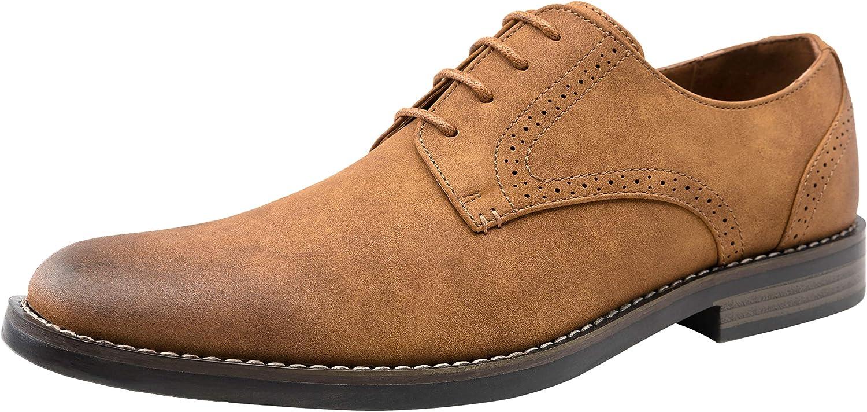 JOUSEN Men's Oxford Dress shoes Men