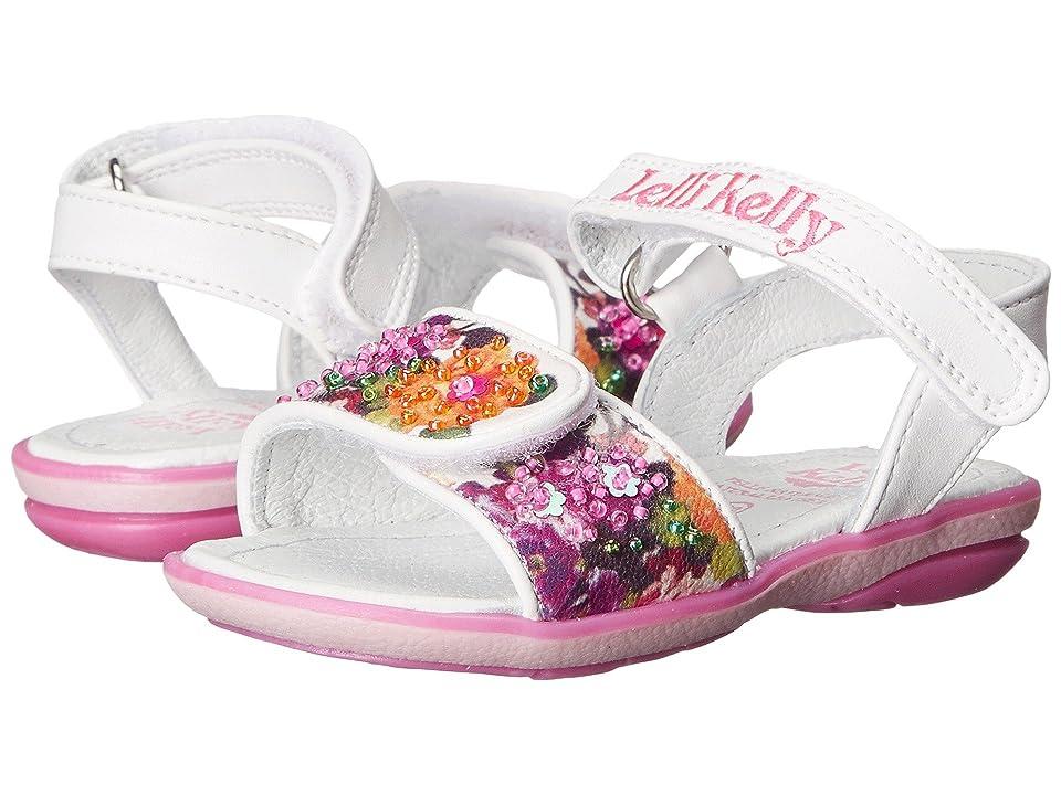 Lelli Kelly Kids Bella Sandal (Toddler/Little Kid) (White Fantasy) Girls Shoes