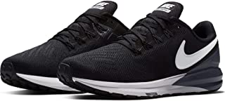 Women's Air Zoom Structure 22 Running Shoe Wide Black/White/Gridiron Size 8 Wide US