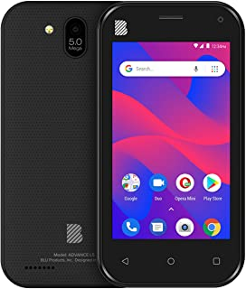 BLU Advance L5 -Unlocked Dual Sim, 16GB -Black