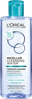 L'Oréal Paris Micellar Cleansing Water Normal to Oily Complete Cleanser, 13.5 fl. oz.