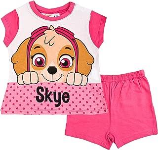 Paw Patrol Baby Girls Short Pajamas Pjs