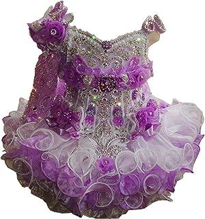 Infant Baby Girls Short Cupcake Dress Little Girls Pageant Party Dress