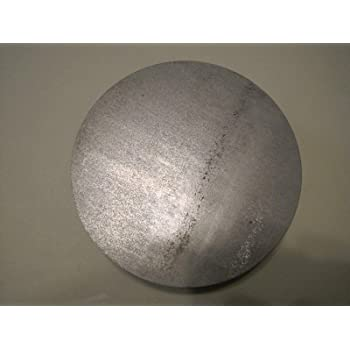 """Disc Shaped Circle 3/"""" Diameter 3//8/"""" Steel Plate 3//8/"""" thick 1117 Steel Round"""