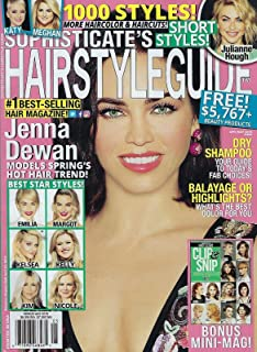 Sophisticate`s Hairstyle Guide magazine May 2019 Jenna Dewan