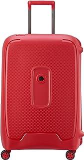 Delsey Paris Moncey Suitcase, 69 cm, 86 L, Red Stars