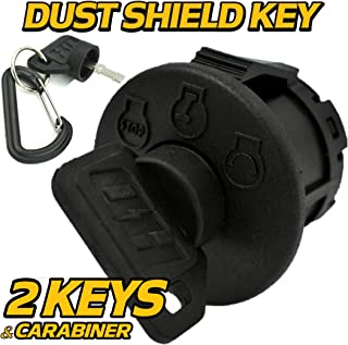 HD Switch MTD 925-04659 Bolens, Huskee Ignition Switch - Includes Key & Free Carabiner