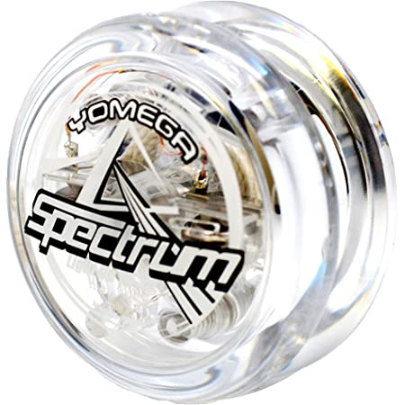 Yomega Spectrum – Light up Fireball Transaxle YoYo with LED Lights for Intermediate, Advanced and Pro Level String Trick Play + Extra 2 Strings & 3 Month Warranty