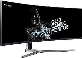"Samsung Monitor Gaming 49"" Super UltraWide QLED, Resolución 3840 x 1080, 144 Hz (Modelo LC49HG90DMLXZX)"