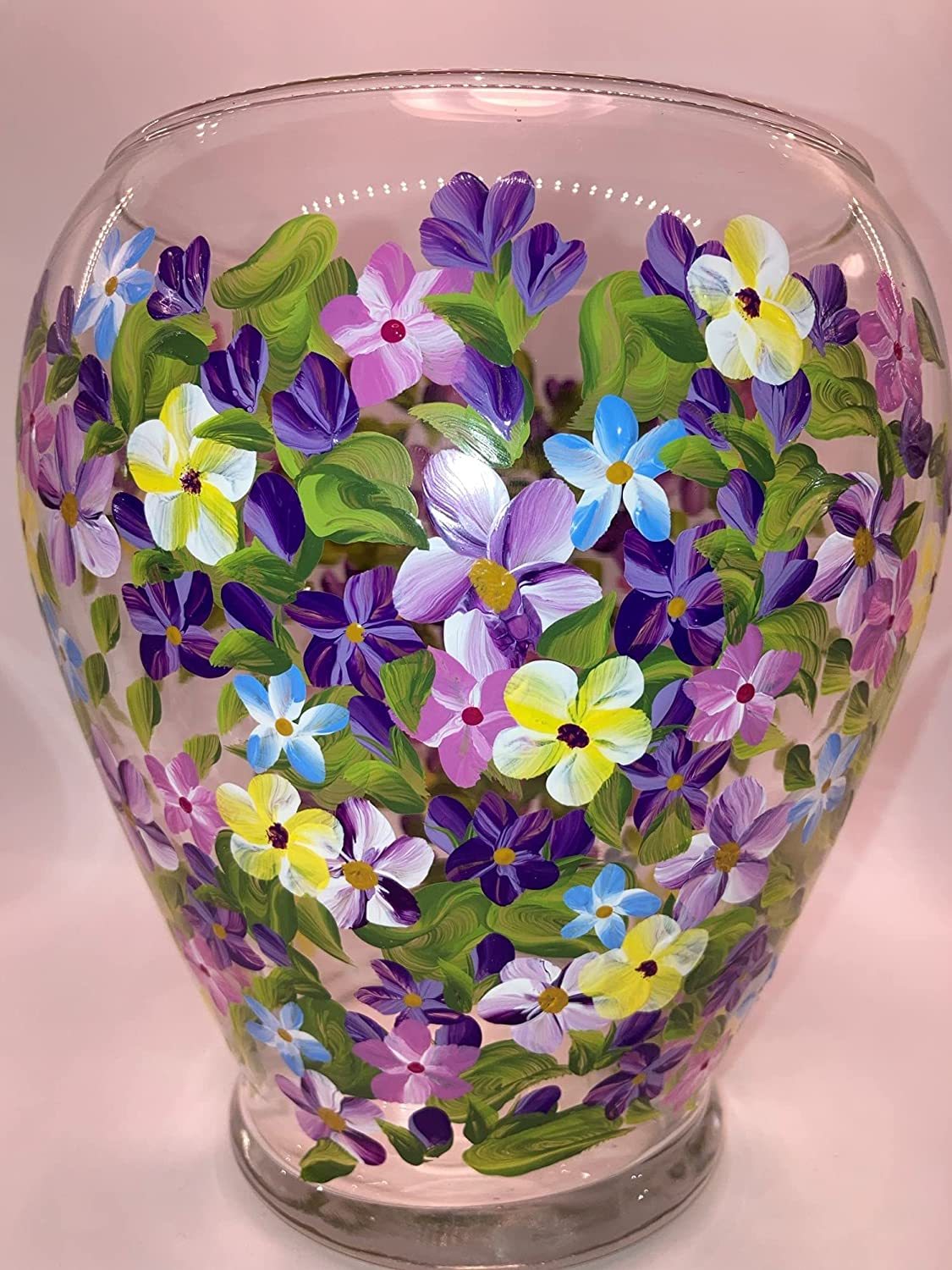 Created by EverMyHart Hand Painted Bouquet Same day shipping - Summer Online limited product Vase
