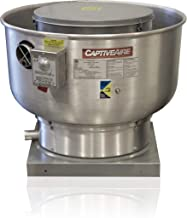 Low Profile Grease Rated Food Truck Exhaust Fan- High Speed Direct Drive Centrifugal Upblast Exhaust Fan with speed control- 24 3/4