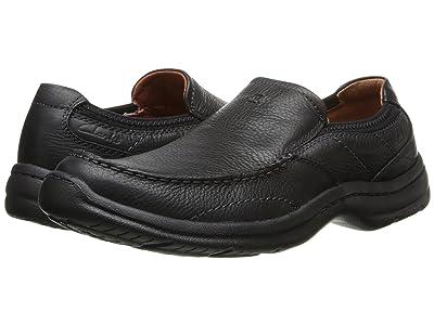 Clarks Niland Energy (Black Tumbled Leather) Men