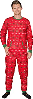 Custom Add Your Text Butt Flap Family Christmas Pajama Union Suit