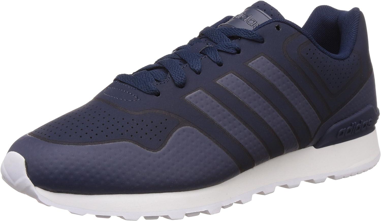Adidas Herren 10k Casual Turnschuhe, blau Schön