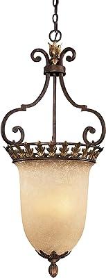 Amazon.com: Progress Lighting p3686 – 91 C 3-Light Le Jardin ...