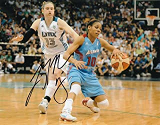 LINDSAY WHALEN signed (MINNESOTA LYNX) WNBA Basketball 8X10 photo W/COA - Autographed WNBA Photos