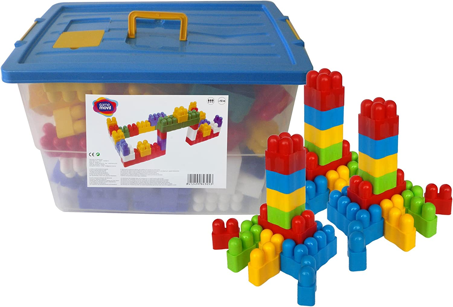 Game Movil 150 pieces Blockis Extra Large Construction Game  in large toy box