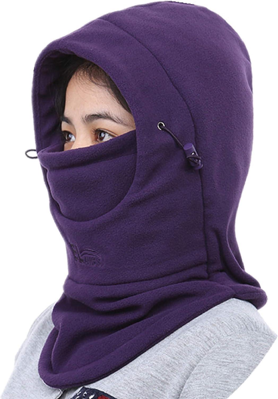 Azarxis Fleece Balaclava Ski Face Mask Windproof Winter Hat Neck Warmer Snowboard Cycling Hat