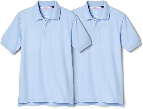 French Toast Official School Uniform Big Boys Short Sleeve Sport Polo Shirt Stay Cool Fabric Size 16-18-20