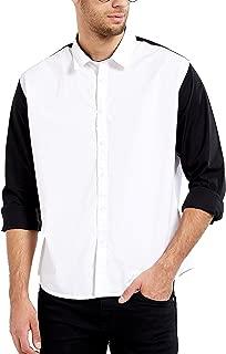 Maniac Men's Fullsleeve Regular Collar Cotton Shirt