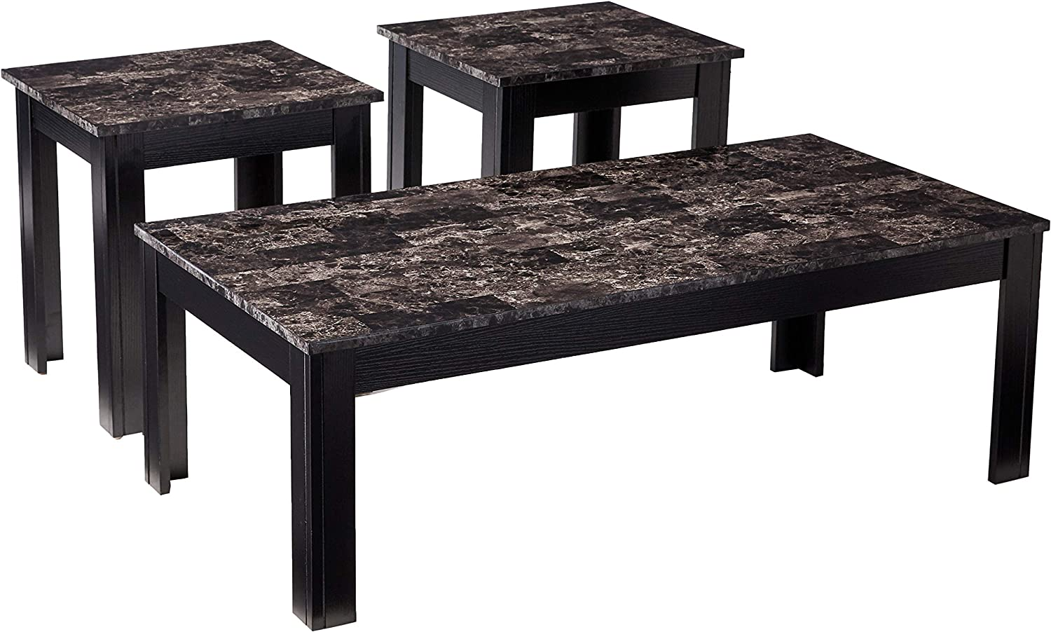 Coaster Home Furnishings 3-Piece Occasional Brand new Marbl New item Set Table with