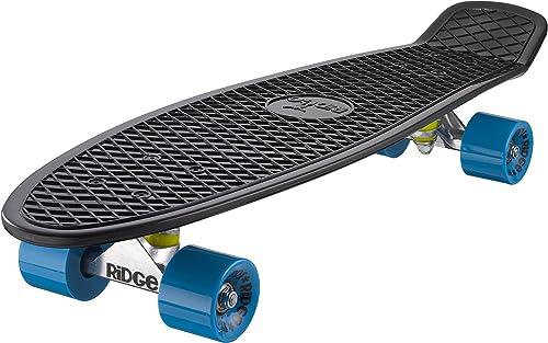 Ridge Skateboards Big Brother Retro Cruiser Nickel Board Skateboard