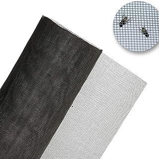 Siatka przeciw owadom o szerokości 60 cm odporna na ogień i wodę na muchy, komary, mole i owady (1 m)