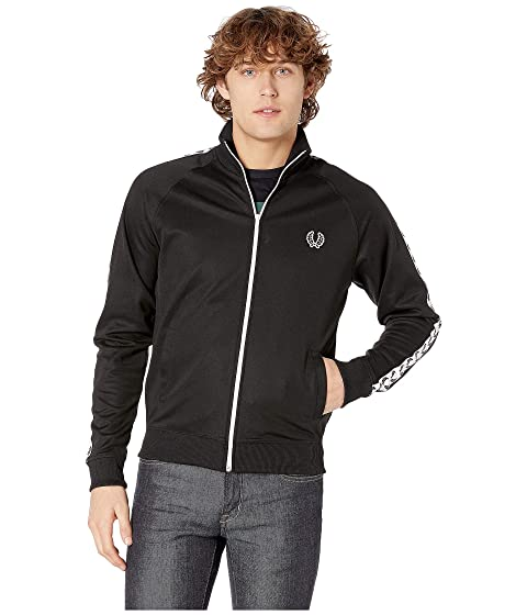 49bfee85f Fred Perry Laurel Taped Track Jacket at Zappos.com