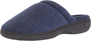 Women's Classic Terry Clog Slippers Slip on, Heather Grey, X-Small / 5.5-6 Regular US
