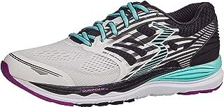 361 Degrees Women's Meraki High Performance Everyday Training Lightweight Running Shoe, White/Black, 6.5B