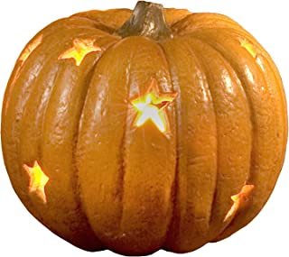 Lighted Stars Pumpkin Standard