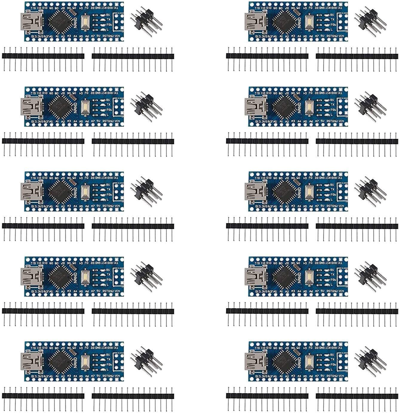 SODIAL 10PCS for ATmega328P 5V Module Ranking TOP10 Board Controller -Type 16M Max 87% OFF