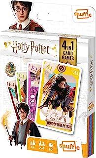Shuffle Card Game Fun 4 in 1 Harry Potter