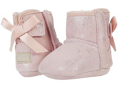 UGG Kids Jesse Bow II Shimmer (Infant/Toddler) (Pink Cloud) Girl