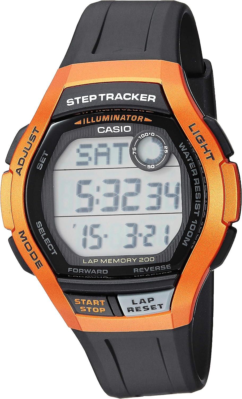 Indefinitely Casio Men's Cheap bargain Step Tracker Stainless Quartz Watch Steel Sport with