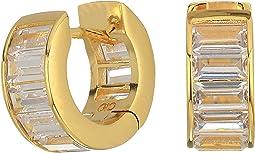 Cole Haan Baguette Huggie Earrings