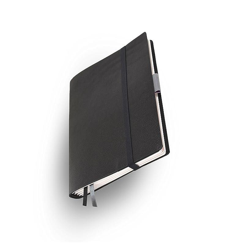 ピクニック集める気怠いWhitebook Soft S201-ML、モジュラーノート、カーフスキン、カット、ブラック、240 P ノート FSC(iPad Mini、Samsung Tab 8